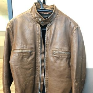 "1960 ""Kehoe"" leather motorcycle jacket"